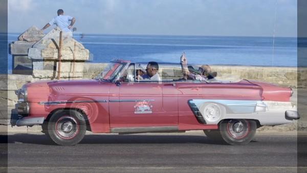 VIDEO; Havana-Cuba,  The Amarcan Classic Cars, February  2019.