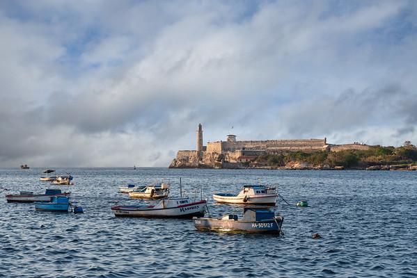 Castillo de los Tres, Havana, Cuba.