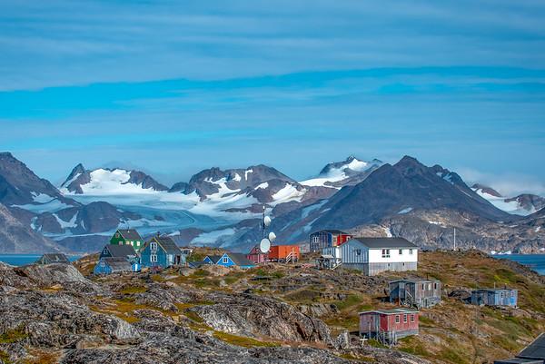 Outskirts Kulusuk, Greenland.