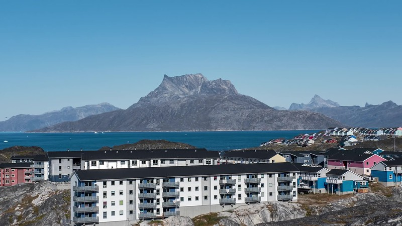 VIDEO; Nuuk Greenland, September 2019.