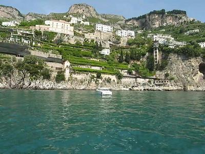 Amalfi. Taking a morning cruise around Amalfi and the coast around the town of Amalfi! May 25th, 2008