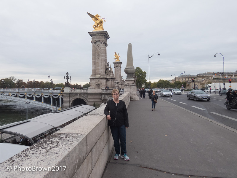 Rita Near Pont Alexandre Bridge