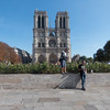 Photographing Notre Dame