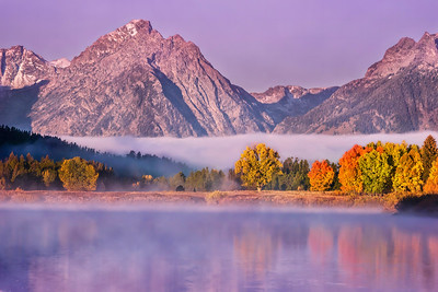 Misty Morning at Grand Teton National Park