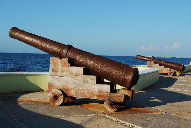 Canons de Campeche