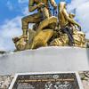 Fishermen memorial statue on Isla Mujeres,Mexico