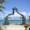 Portal Maya Sculpture Playa del Carmen