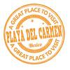 Playa del Carmen stamp