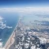 Yucatan Mexico Coast Aerial