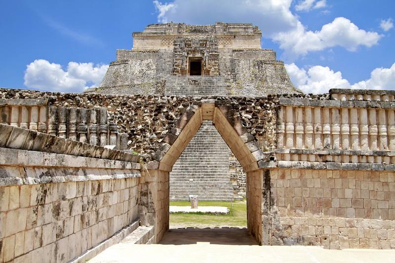 Uxmal Pyramid Complex in Mexico