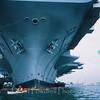USS Kitty Hawk.  Pre 9-11.
