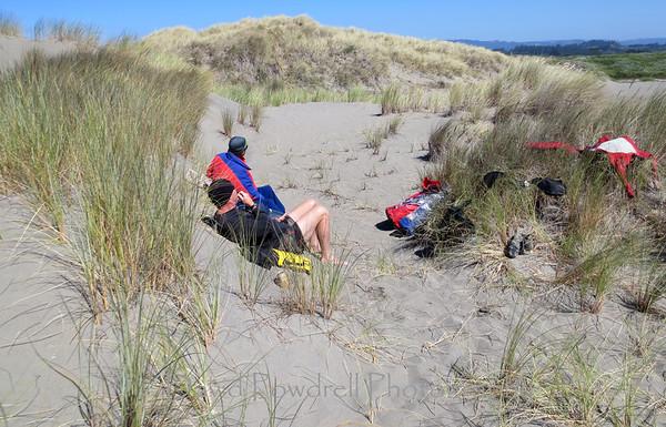 Mad River sand dunes.