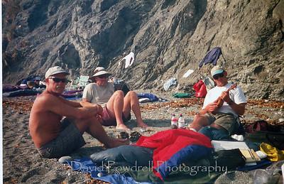 Rob, John and Dave at Point Sal.
