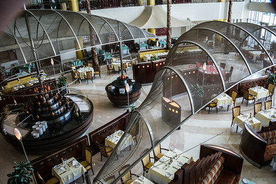 The Corinthia Hotel - Luxury (but solitary) dining
