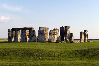 Stonehenge, taken at sunset