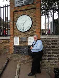 At the Royal Naval Observatory in Greenwich, England