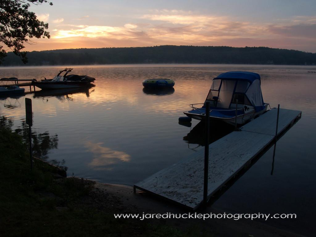 Boat Docks, Crystal Lake, CT