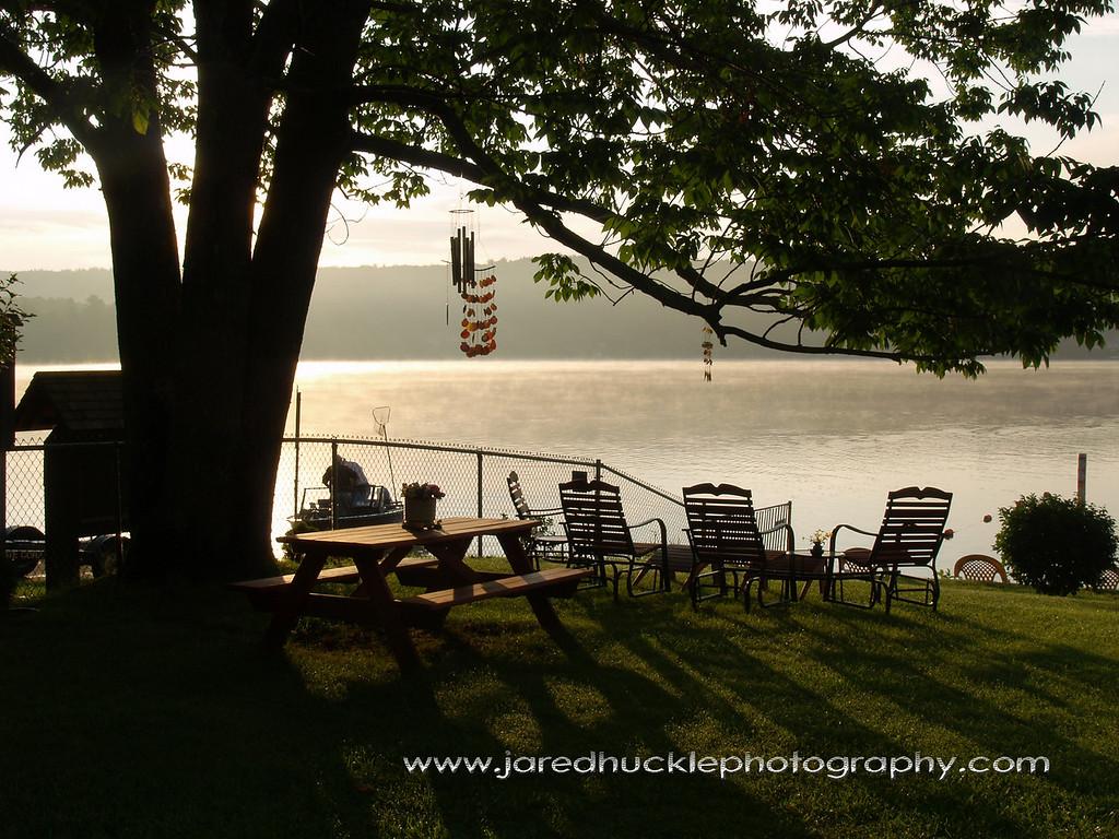 Backyard, Crystal Lake, CT