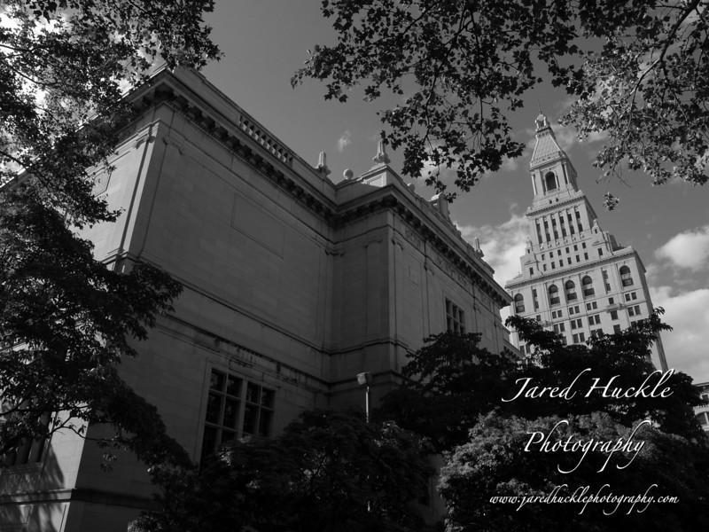 Traveler's Tower and Wadsworth Atheneum, Hartford, CT