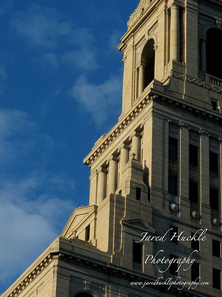 Detail of the Traveler's Tower, Hartford, CT