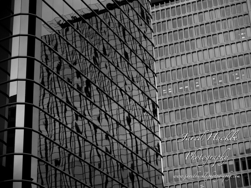 Office building reflection, Hartford, CT