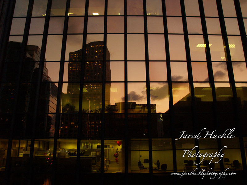 Office building reflections, Hartford CT