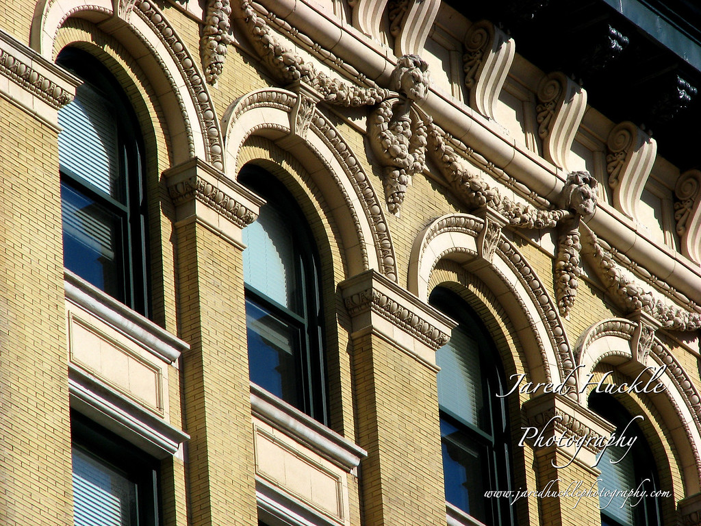 Architectural Detail on Main St, Hartford, CT