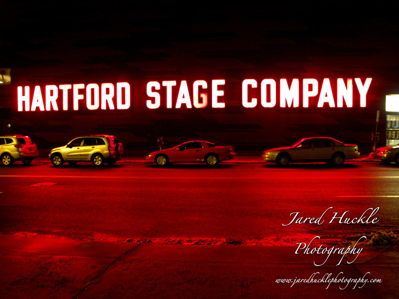 Hartford Stage Company sign, Hartford, CT