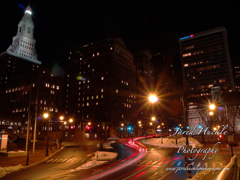 State Street and old State House, Hartford, CT