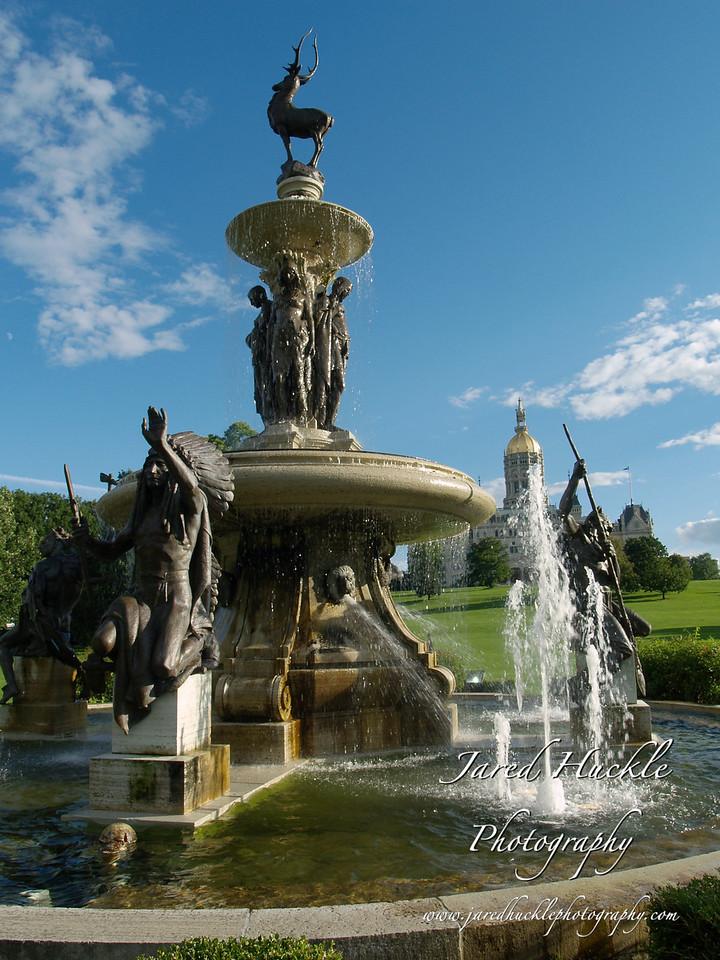 Bushnell Park Fountain, Hartford, CT
