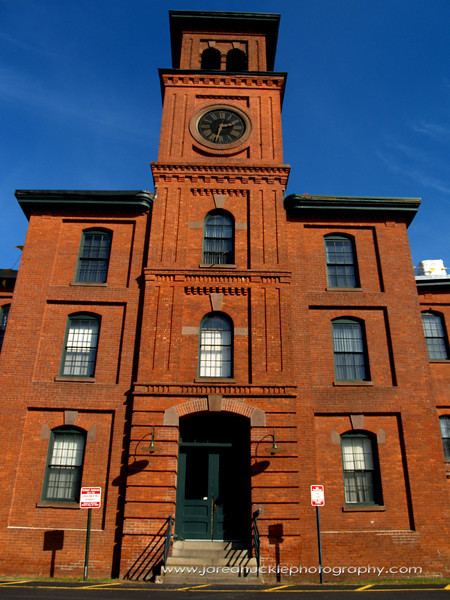 Clock tower, Cheney Silk Mills, Manchester, CT