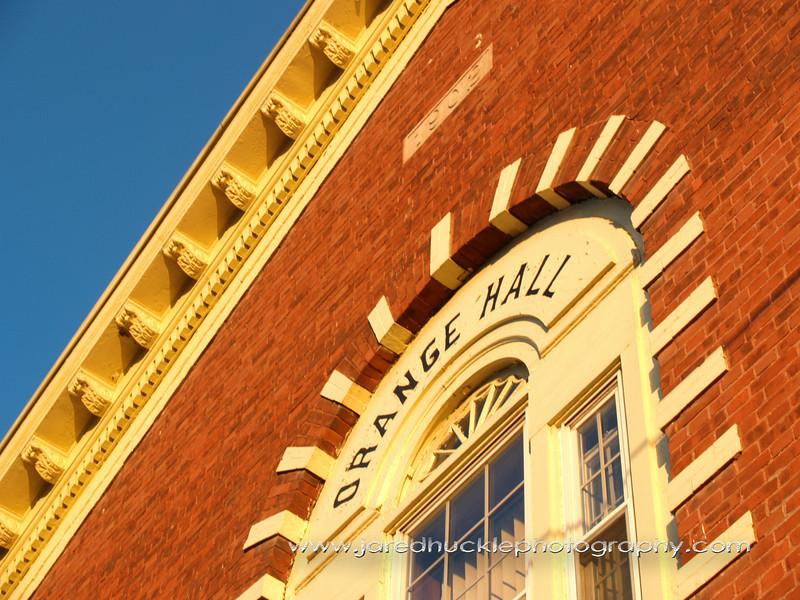 Orange Bricks and Blue Sky, Manchester, CT