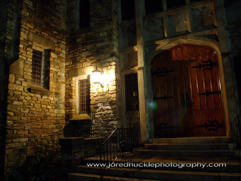 Stone Church Entrance, Manchester, CT
