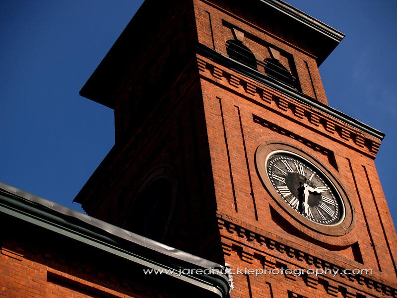 Clock tower, Cheney Silk Mills, Manchester, CT