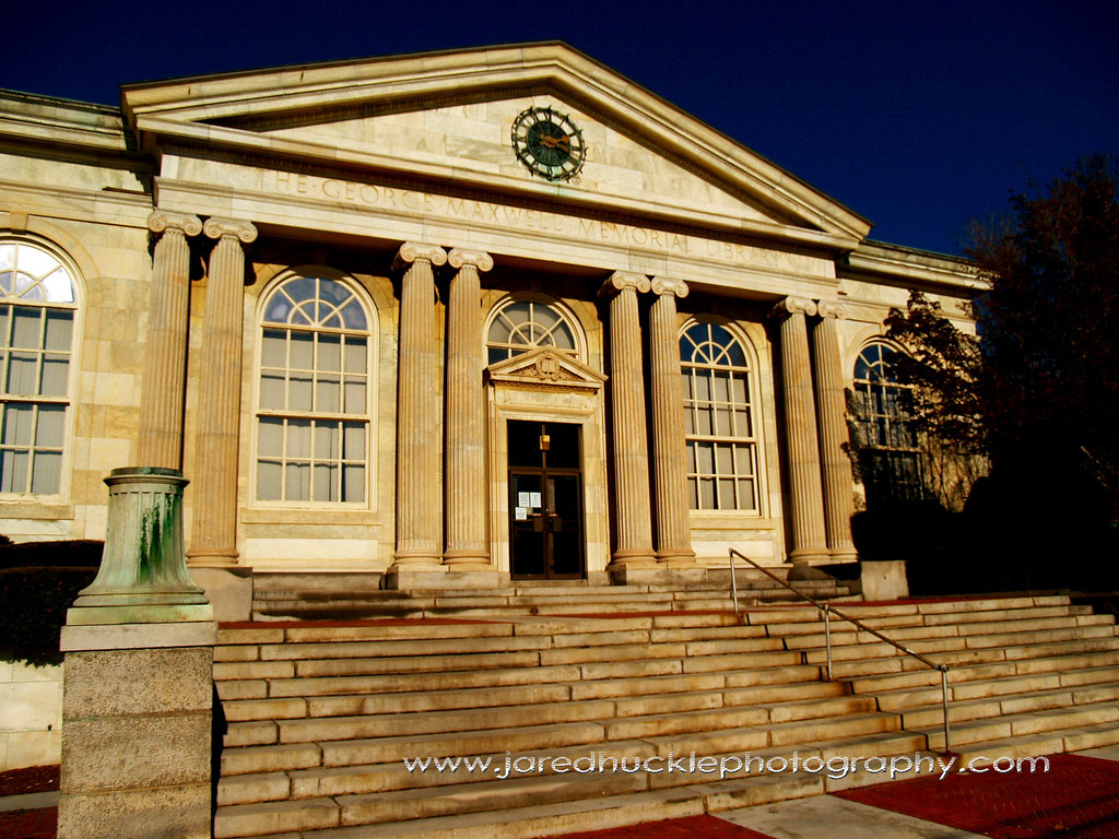 George Maxwell Memorial Library, Rockville, CT