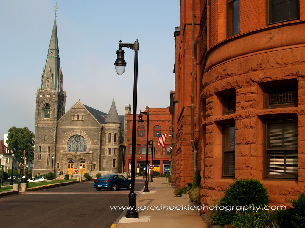 Streetscene, Rockville, CT