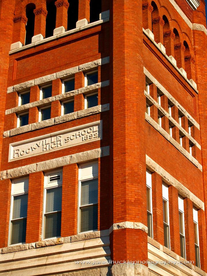 Rockville High School, Rockville, CT