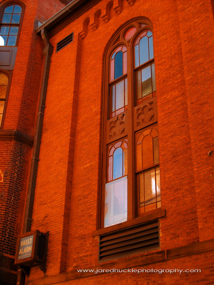 Former Church Window, Rockville, CT