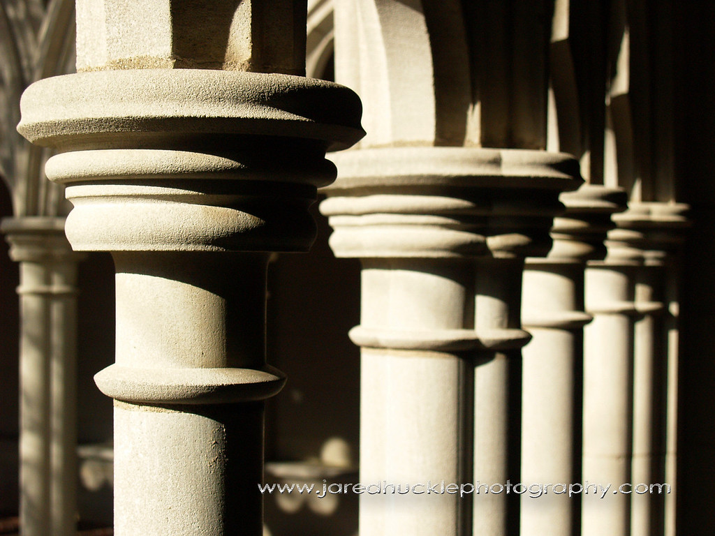Columns of Trinity College Chapel