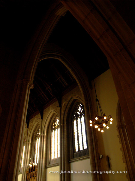 Interior of Trinity College Chapel