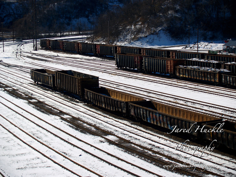 Rail yard, Duquesne, PA