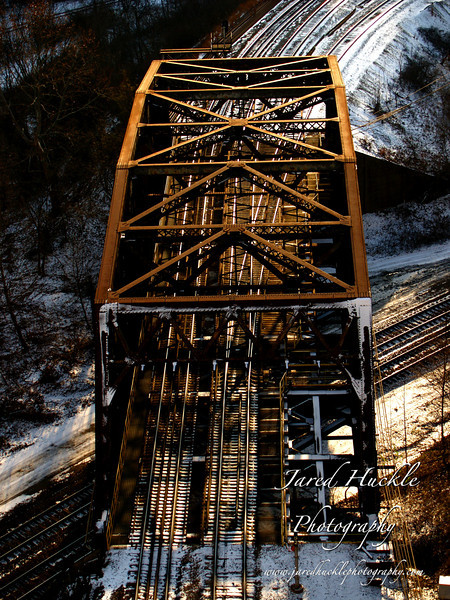 Railroad bridge, Braddock PA