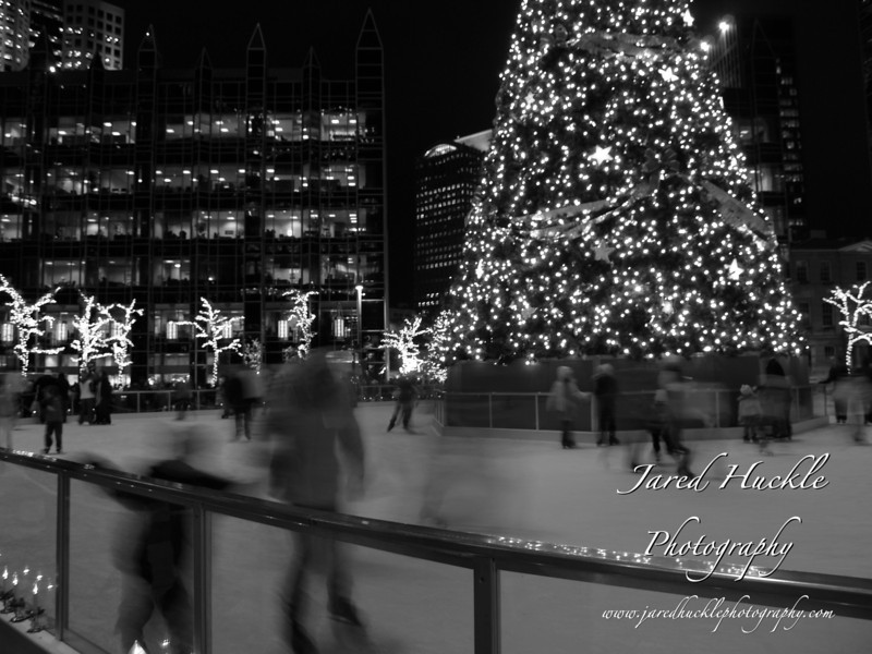 Skating rink, Light Up Night, Pittsburgh PA