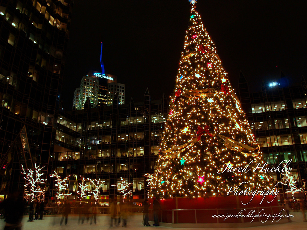 Skating rink, Light Up Night, Pittsburgh PA