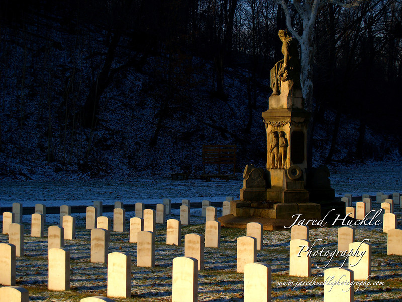 Civil War monument and graves, Allegheny Cemetery, Lawrenceville, Pittsburgh PA
