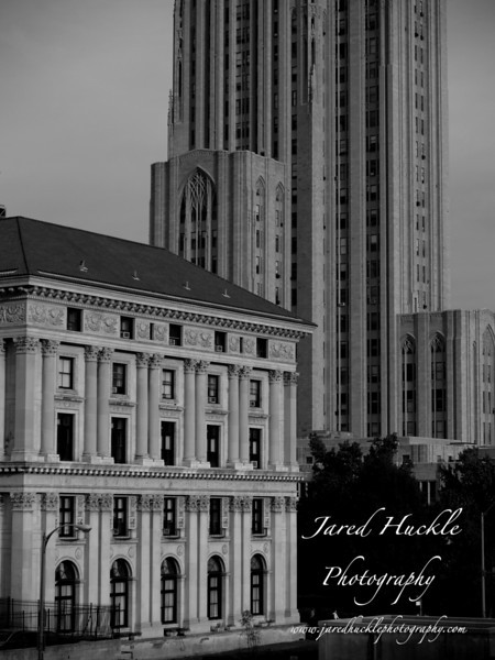 Pittsburgh Athletic Association and Cathedral of Learning, Oakland, Pittsburgh PA