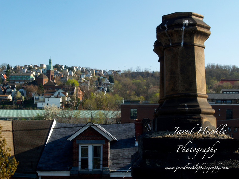 Chimney with South Side Slopes behind