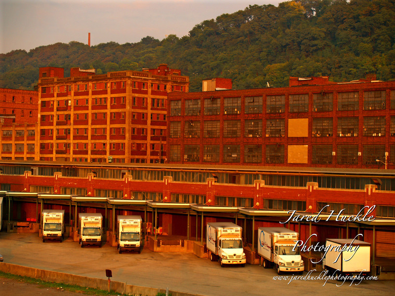 Collection of buildings, Strip District, Pittsburgh Pennsylvania