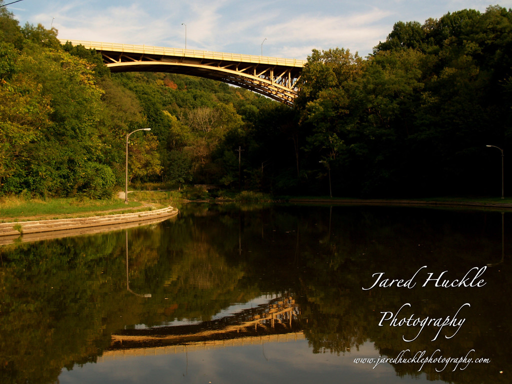 Panther Hollow Lake, Schenley Park, Pittsburgh PA