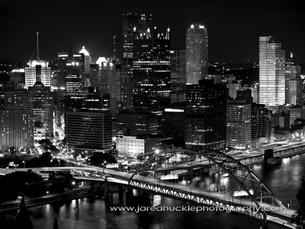 Downtown Pittsburgh seen from the Duquesne Incline